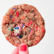 Birthday Cake Chocolate Chip Cookies from The Salted Cookie