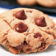 Browned Butter Peanut Butter Chocolate Chip Cookies from The Salted Cookie