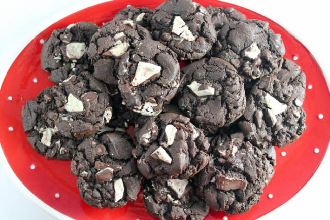 Peppermint Mocha Cookies-4