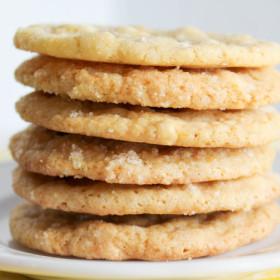 White Chocolate Lemon Cookies-3