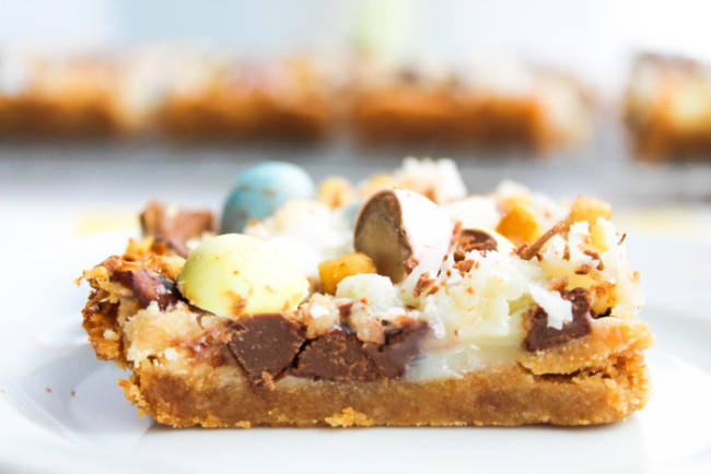 Cadbury Mini Egg Magic Bars