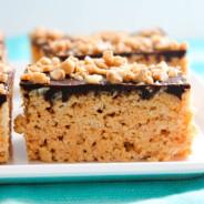 Chocolate Peanut Butter Rice Krispie Treats-4