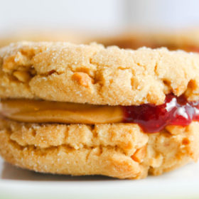 Peanut Butter and Jelly Sandwich Cookies-7