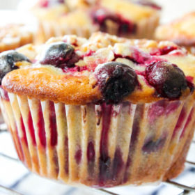 Cranberry Orange Streusel Muffins-2