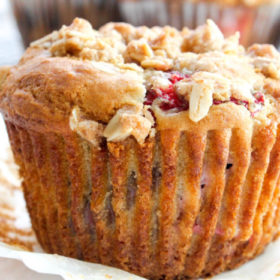 Strawberry Chocolate Chip Muffins-7