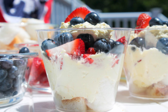 OXO Summer Fruit Trifle