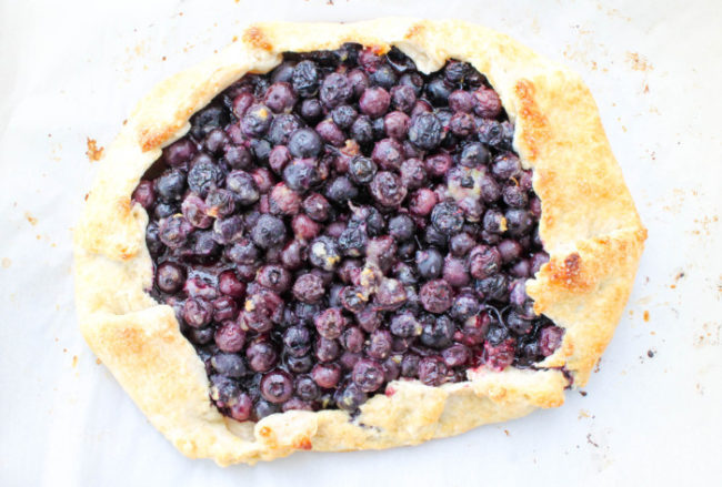 Bluebery Galette