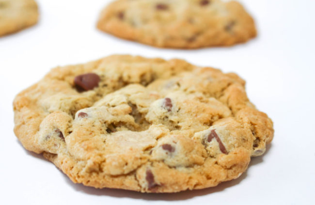Oatmeal Chocolate Caramel Cookies The Salted Cookie
