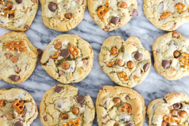 Kitchen Sink Cookies – The Salted Cookie